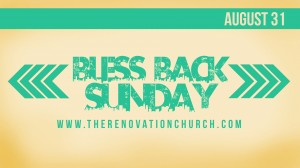 Bless Back Sunday